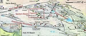 A  Location Of The Qaidam Basin   B  Major Tectonic