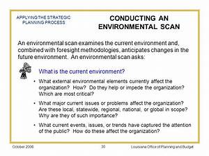 part ii process plan components ppt download With environmental scan template