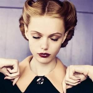 Coiffure Des Années 50 : coiffure style ann e 50 ~ Melissatoandfro.com Idées de Décoration