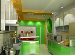 une cuisine color block bricobistro With kitchen colors with white cabinets with mac stickers apple