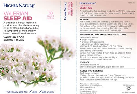 Valerian Is A Traditional Herbal Medicinal Product For The