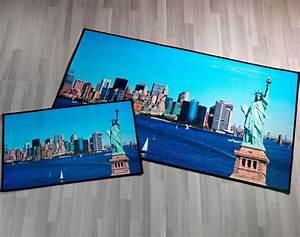 Teppich New York : teppich foto motiv print new york ~ Orissabook.com Haus und Dekorationen