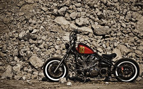 Photos Yamaha Xv1600 Bobber Motorcycles Stones