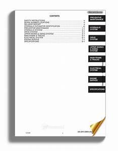 Bobcat T200 Hydraulic Excavator Service Manual 6901397