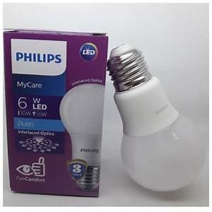 Jual Lampu Led Philips 6 Watt Bohlam 6w    Philip Putih 6 W
