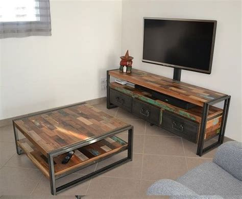 17 best ideas about meuble tv teck on meuble tv bois meuble tele bois and meuble t 233 l 233