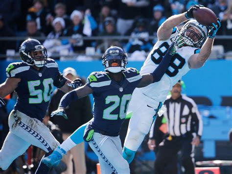 panthers  seahawks nfc playoff game  portland
