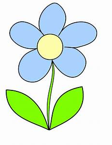 Blue Flower Clip Art - Cliparts.co