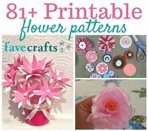81+ Printable Flower Patterns FaveCrafts com