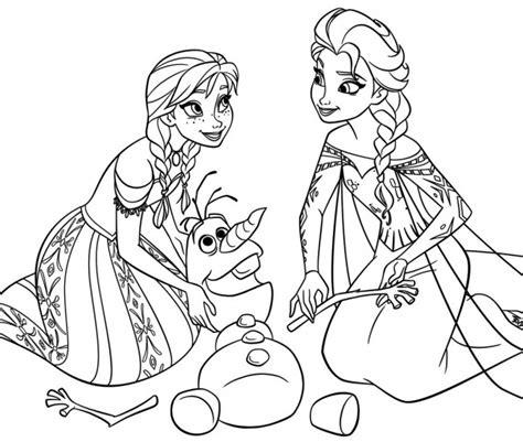 disegni da colorare olaf frozen personaggi da colorare elsa e olaf