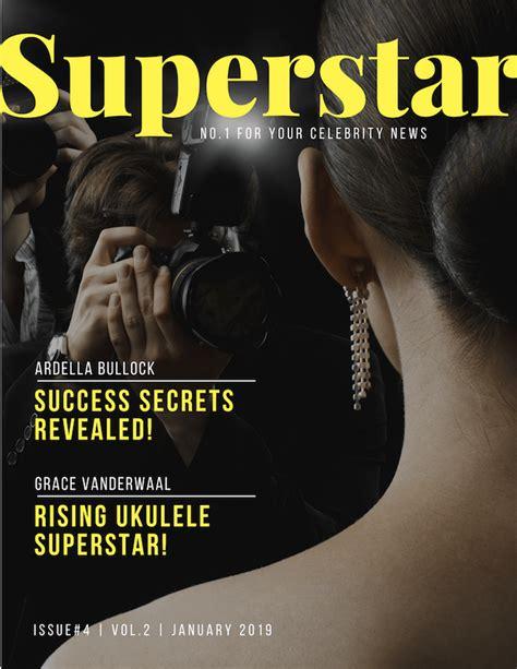 Free Online Magazine Cover Maker Canva
