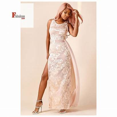 Tessy Embroidered Gown Formal Dresses Gowns