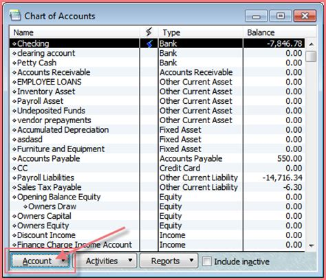 quickbooks chart of accounts template 10 best images of quickbooks restaurant chart of accounts standard chart of accounts