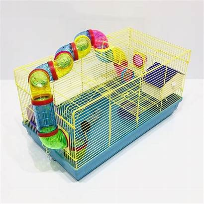 Hamster Cage Tubes Funky Xl