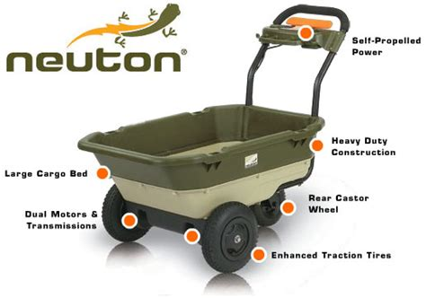 Amazoncom  Neuton 22721 12volt 2speed Selfpropelled