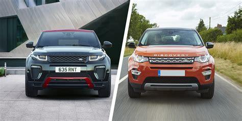 Range Rover Evoque Vs Land Rover Discovery Sport