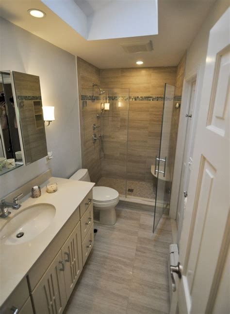 bathroom  stand  shower bathrooms pinterest