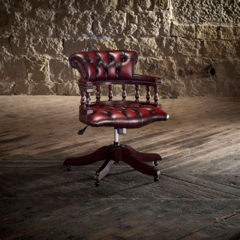 captain s swivel chair from timeless chesterfields uk
