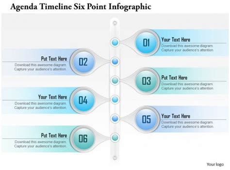 business plan agenda timeline  point infographic