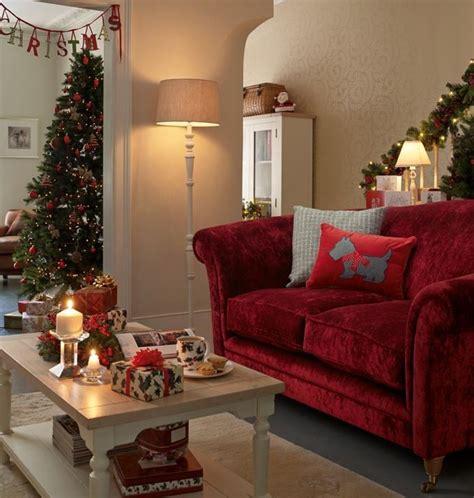 laura ashley   christmas living rooms classic