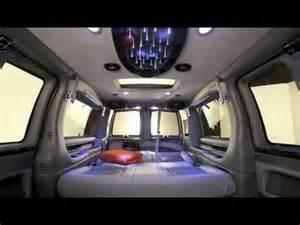 Luxury Custom Conversion Van Interior