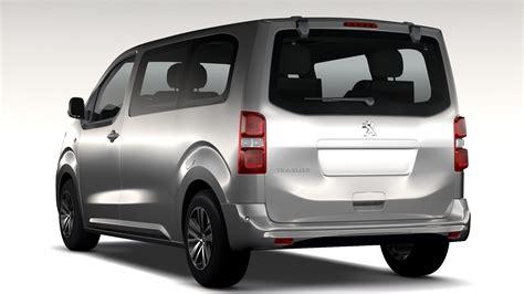 Peugeot Traveller L2 2017 3d Model Buy Peugeot Traveller