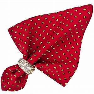 Serviette De Table En Tissu : serviette de table tissu proven al rouge motif lavande ~ Teatrodelosmanantiales.com Idées de Décoration