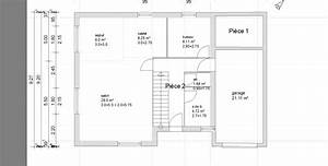 plan maison plein pied 120m2 maison rectangle 2 plan de 9 With plan maison etage 100m2 15 plan maison moderne en bois chaios
