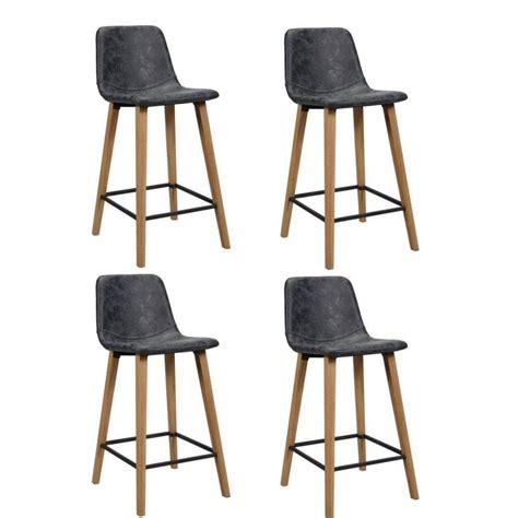 chaise de bar noir chaise de bar design tendance r 233 tro au meilleur prix