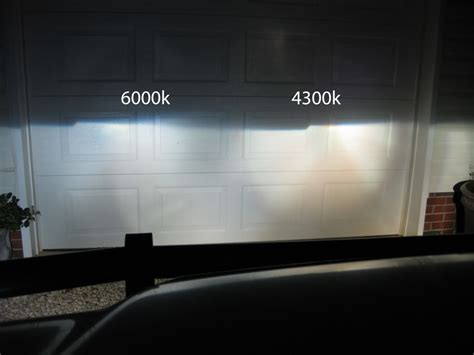 6000k 4000k xenon led hid lights better which 000k road halo question ends