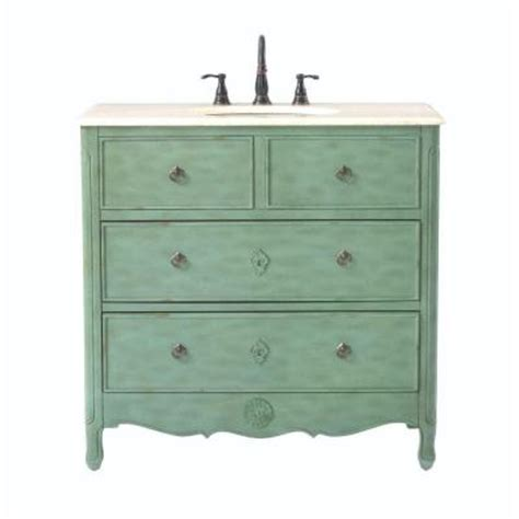 Distressed Bathroom Vanity 36 by Home Decorators Collection 36 In W Vanity In