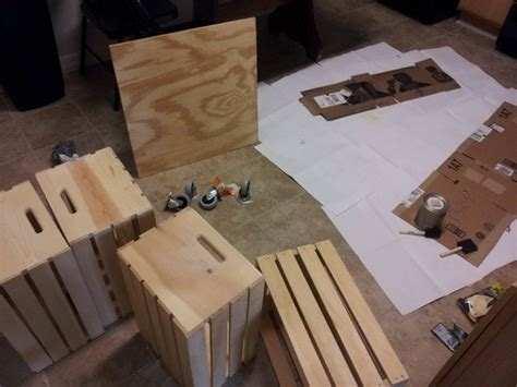 A very useful coffee table design is the one created out of old wine crates. How To Make A Coffee Table Out Of Old Wine Crates Easy DIY Project