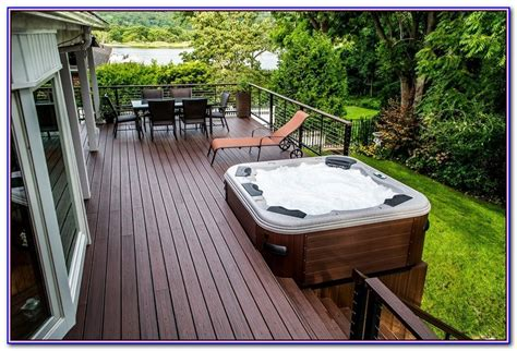 decks with tubs and pits decks with hot tubs and fire pits decks home decorating ideas owarb6jad8