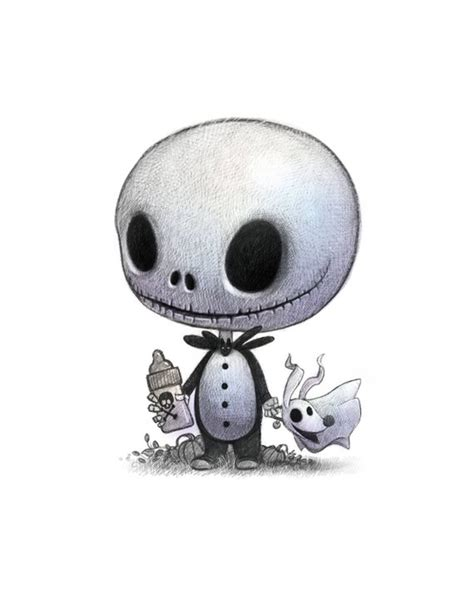 Zero the dog the nightmare before christmas svg, zero the dog svg, cutting files for cricut silhouette, instant download therustyfoxdesigns. 11X14 Baby Jack Skellington & his dog Zero. Fan art