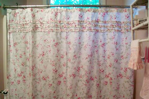 simply shabby chic blue shower curtain simply shabby chic target curtains soozone