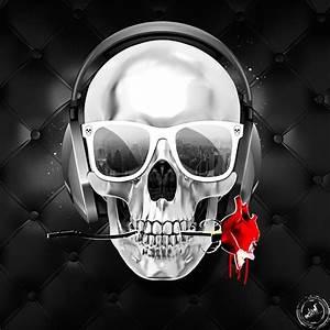 Dessin Tete De Mort Avec Rose : tableau toile skull and roses by lab2design skull duggery pinterest t te de mort crane et ~ Melissatoandfro.com Idées de Décoration