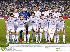 Équipe De Real Madrid Photo stock éditorial Image 46241188