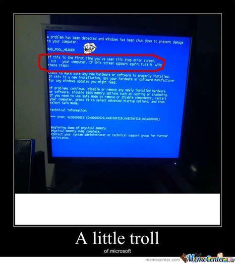 Microsoft Memes - rmx microsoft troll by kyxxer meme center