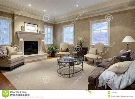 elegant living room lounge stock image image