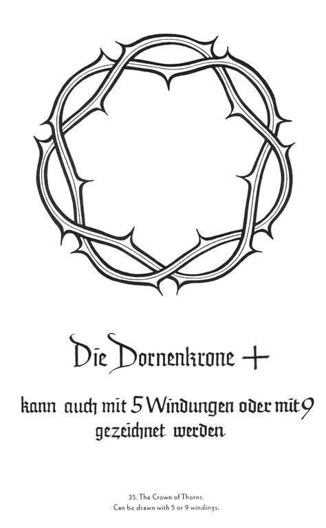 beautiful design for a tattoo. the crown of thorns offers an open center to add a more personal
