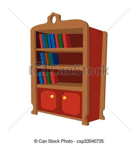 Libreria Cartone by Legno Libreria Cartone Animato Icona Legno Libreria