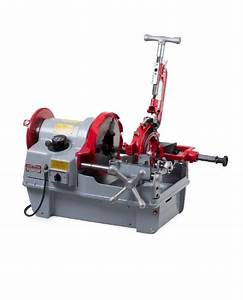 The Hardest Working 4 U0026quot  Pipe Threading Machines