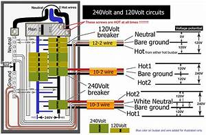 120 240v 1 Phase Wiring Diagram