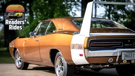 dodge charger daytona revived  concours level restoration   years  storage