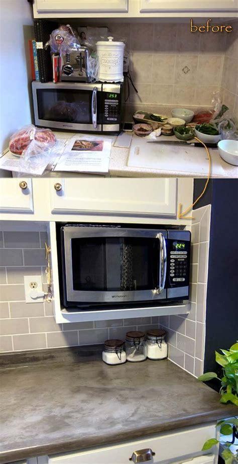 clutter  kitchen countertop ideas  designs