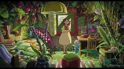 Secret Arrietty Dvdactive Ghibli Background