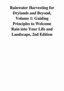 2013  Rainwater Harvesting For Drylands And Beyond