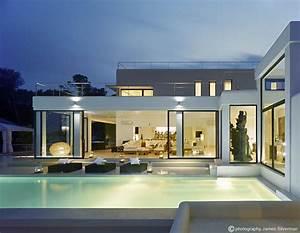Pool  Lighting  Terrace  Glass Sliding Doors  Villa In Ibiza