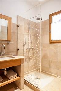salle de bain beige bois With salle de bain galet et bois