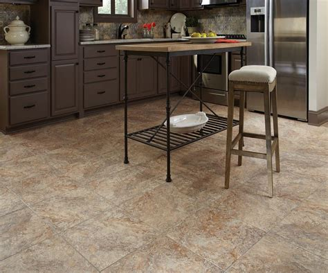 stainmaster vinyl tile crushed shell stainmaster 174 18 in x 18 in groutable crushed shell light